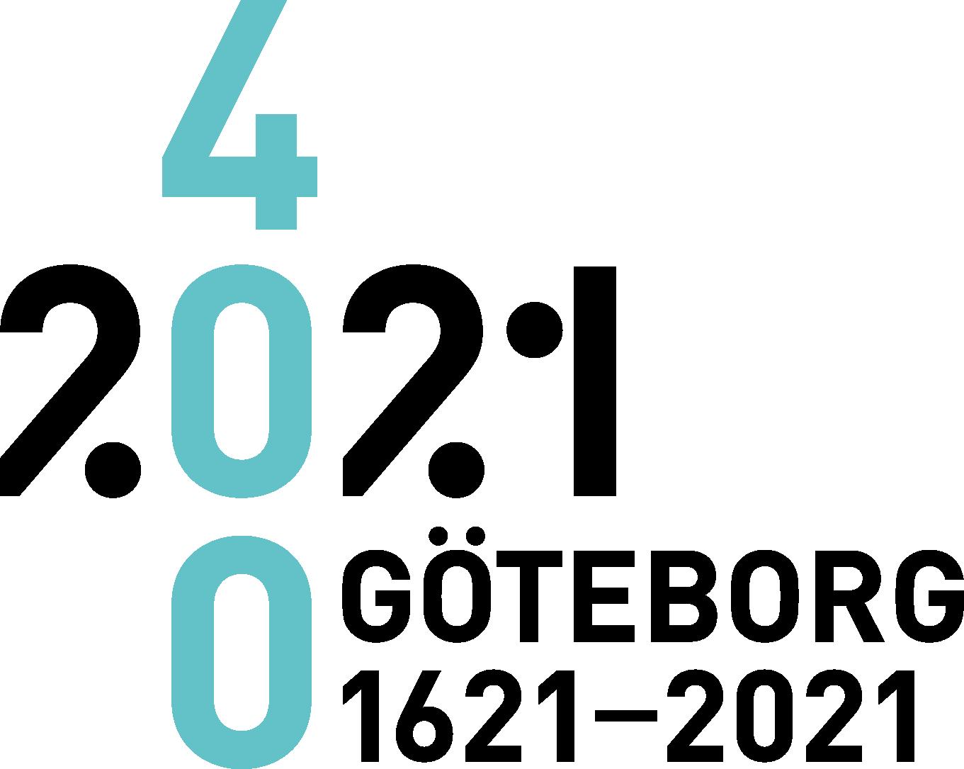 Logga Gothenburg City 400 Years